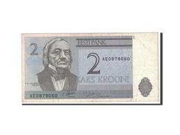 Estonia, 2 Krooni, 1992, KM:70a, TTB - Estonie