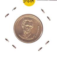 GRECIA  -  GREECE -  MONEDA DE  20  DRACHMAS   AÑO 1992  -  Aluminum-Bronze, 24.5 Mm. - Grecia