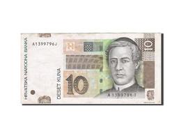 Croatie, 10 Kuna, 2001, KM:38, 2001-03-07, TB+ - Croatie