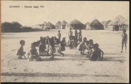 °°° 2254 - ANGOLA - DAMBA - DANZA DEGLI FTI °°° - Angola