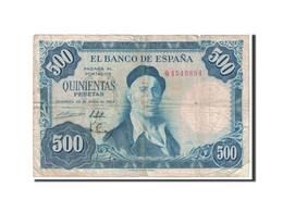 Espagne, 500 Pesetas, 1954, KM:148a, 1954-07-22, B - [ 3] 1936-1975: Regime Van Franco