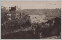 Aesch - Ruine Angenstein - Photo: E. Goetz - BL Bâle-Campagne
