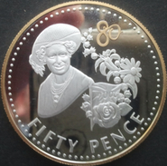 Falkland, 50 Pence 2006 - Argent / Silver Proof - Guilded - Falkland Islands