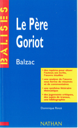 Le Père Goriot De Balzac (Résumé Analyse Personnages Biographie De L'auteur Jugement Bibliographie Etc.) - Livres, BD, Revues