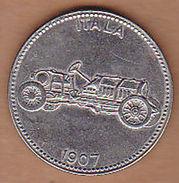 AC -  ITALA 1907 SHELL WELTBERUHMTE SPORTWAGEN TOKEN - JETON - Monetary /of Necessity