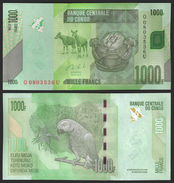 Congo Democratic Rep. 1000 Francs 2013 P 101b UNC - Republic Of Congo (Congo-Brazzaville)