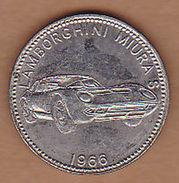AC -  LAMBORGHINI MIURA S 1966 SHELL WELTBERUHMTE SPORTWAGEN TOKEN - JETON - Monetary /of Necessity