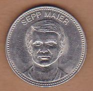 AC - SEPP MAIER SHELL IX FUSSBALL WELTMEISTERSCHAFT MEXICO 1970 FOOTBALL TOKEN - JETON - Monetary /of Necessity