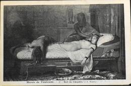 CPA. - FRANCE - Musée De Toulouse - Mort De Cléopâtre De J.A. RIXENS - TBE - Musées