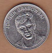AC -  JURGEN GRABOWSKI SHELL IX FUSSBALL WELTMEISTERSCHAFT MEXICO 1970 FOOTBALL TOKEN - JETON - Monetary /of Necessity