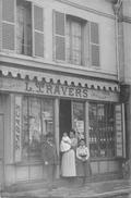 27-LOUVIER- CARTE PHOTO A VERIFIER- TABAC L. TRAVERS - Louviers