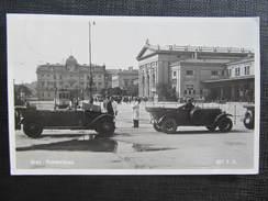 AK GRAZ Bahnhof Auto 1934  // D*23264 - Graz
