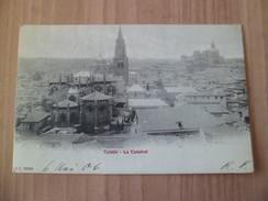 CPA P.Z. 10204 La Catedral Espagne Carte Postale Tolède Le 06 Mai 1906 Pour Lyon Avec Les N°140 Et 212 En Paire  TB - Cartas