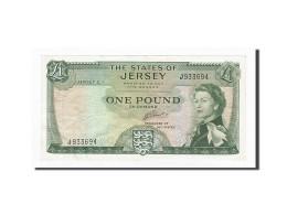 Jersey, 1 Pound, 1963, KM:8b, SUP - Jersey