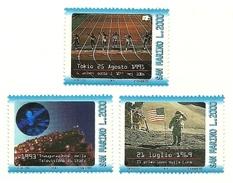 1993 - San Marino - Televisione - Da Foglietto - Saint-Marin