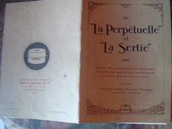 """Vieux Papier Publicitee Boite De Conserve """" La Perpetuelle """" Et La Sertié - Pubblicitari"""