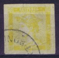Austria: 1851  Mi Nr 7 I A Zeitungsmarke  Gestempelt/used/obl. - Gebruikt