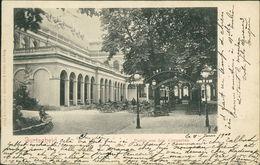 AK Aachen-Burtscheid, Partie Aus Dem Curgarten, O 1900, Eckknick Unten Links (5300) - Aachen