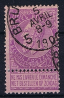 Belgium:  OBP 66 Used Obl  Signed/ Signé/signiert/ Approvato - 1905 Breiter Bart