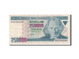 Turquie, 250,000 Lira, 1998, KM:211, TTB - Turchia