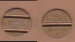 AC -  GETTONE TELEPHONE 7808 TOKEN - JETON - Monetary /of Necessity