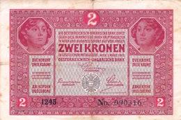 Austria - Oesterreichisch-Ungarische Bank 2 Kronen 1917 - Austria