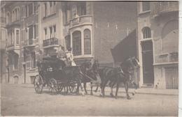 Attelage De Chevaux Dans Rue - à Situer - Paardenspan In Straat - Te Situeren - Carte-photo - Autres