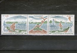 SAINT-PIERRE ET MIQUELON: Triptyque N°509A** - St.Pierre Et Miquelon