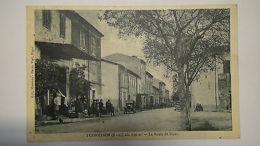DEP 04 PUIMOISSON - LA ROUTE DE DIGNE 1929 ANIMÉE - France