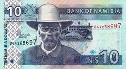 NAMIBIA - 10 DOLLARS - Namibie