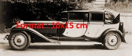 Reproduction D'une Photographie D'une Belle Bugatti Type 41 Royale Berline De 1931 - Reproductions