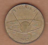 AC -  SPUTNIK 1 SHELL 1957 TOKEN - JETON - Monetary /of Necessity