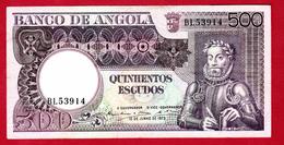 ANGOLA - 500 ESCUDOS 1973 - Angola