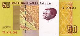 ANGOLA - 50 KWANZAS 2012 - Angola