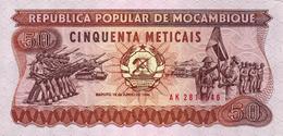MOCAMBIQUE - 50 METICAIS 1986 - Mozambique