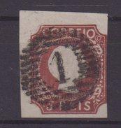 PORTUGAL : N° 5 .OBL . UNE MARGE COURTE , SINON TB . 1855/56 . - 1855-1858 : D.Pedro V