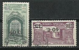 Portugal_1933_Sellos De 1931 Sobrecargados. - 1910-... República