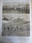 Militaria W1 , Offensive Ennemie Contre Monténégro , Allemands Sur La Place Kralievo , Revue D'autrichiens Plevlié 1916 - Documents Historiques