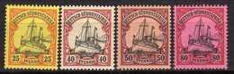 Deutsche Kolonien, Deutsch-Südwestafrika Mi 15; 17-19 * [170317L] - Colony: German South West Africa