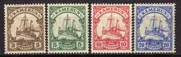 Deutsche Kolonien, Kamerun Mi 20-23 * [170317L] - Colony: Cameroun
