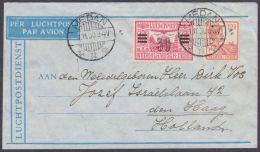Nederlands Indie Brief LP  Medan 1-11-1930 Naar Nederland - Nederlands-Indië