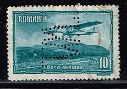 Rumänien 1931, Michel# 422 O Flugzeug Typ Farman III - Gebraucht