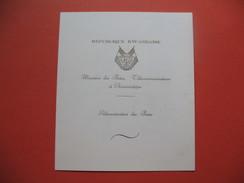 Carnet De 4 Timbres  République Rwandaise  Admission à L'O.N.U. 18/09/1962  Neuf TBE - Rwanda