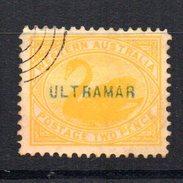 Sello Nº 63   Western  Australia  Con Sobrecarga Ultramar . - Oblitérés