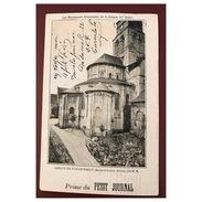 Abbaye De Fontevrault    Abside Prime Du Petit Journal   Précurseur - France