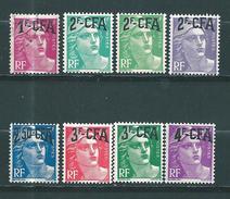Timbres De Réunion  CFA  De 1949/52  N°289 A 296  Neuf * 1 Timbre Oblitéré - Reunion Island (1852-1975)