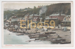 Shanklin (Isle Of  Wight), Chromo, The Esplanade, Used 1907 - Inghilterra