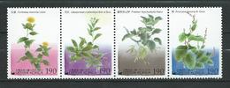 South Korea 2002 Traditional Dye Plants.Mi - 2235/.38.Strip Of 4.MNH - Korea, South