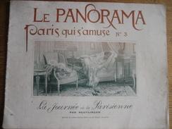 LE PANORAMA-Paris Qui S'amuse N°3-La Journée De La Parisienne : Lever Au Coucher, Toilette, Biyclette -Photos REUTLINGER - Photographs