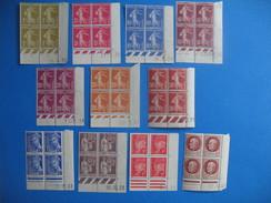 Lot De 11 Coins Datés Neuf **   à Voir  TBE - 1940-1949